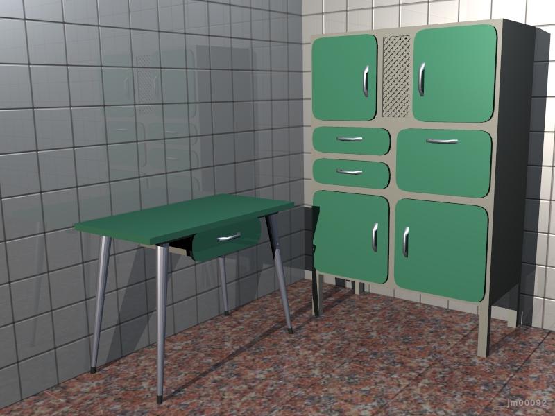 Blender 3D en JM Web , Los muebles de cocina más feos